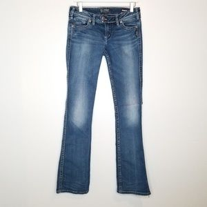 Silver Tuesday Long Boot Cut Jeans